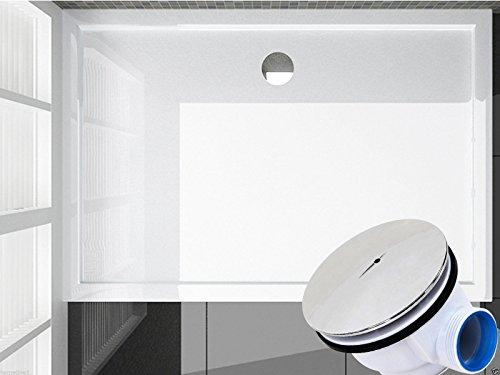 120x90 Duschtasse Duschwanne Flach Wanne H 6 cm Für Duschabtrennung Duschkabine