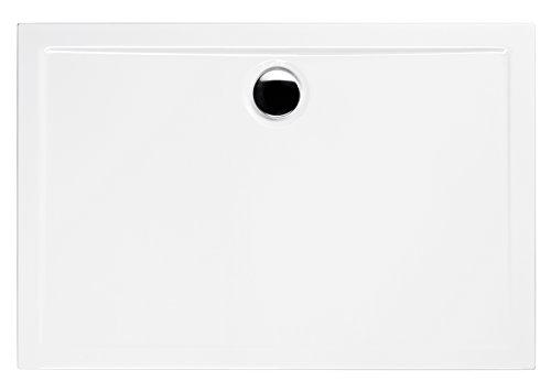 Acryl-Brausewanne Teso | 120 x 90 x 2,5 cm | Duschwanne | Dusche | Arcrylwanne | Brause | Wanne | Bad | Badezimmer