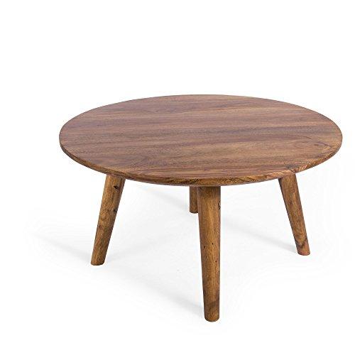 couchtisch palisander massiv holz sheesham 75x75x40 stone finish m bel24. Black Bedroom Furniture Sets. Home Design Ideas