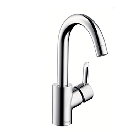 XX Focus S basin mixer chrome high spout