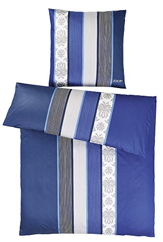 JOOP! Bettwaesche Mako-Satin Ornament Stripe 4022 80x80 cm - 135x200 cm