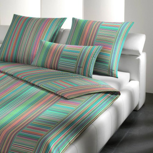 JOOP! Bettwäsche Fine Stripes multi 135x200 cm + 80x80 cm
