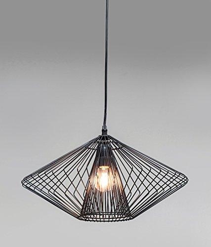 kare 36758 h ngeleuchte modo wire round stahl schwarz m bel24. Black Bedroom Furniture Sets. Home Design Ideas