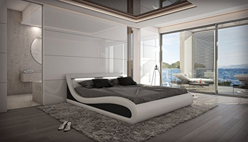 wasserbett caserta 180 x 200 cm mit beleuchtung komplett. Black Bedroom Furniture Sets. Home Design Ideas