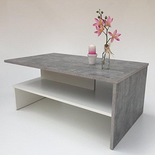 couchtisch sw betonoptik 2 m bel24. Black Bedroom Furniture Sets. Home Design Ideas