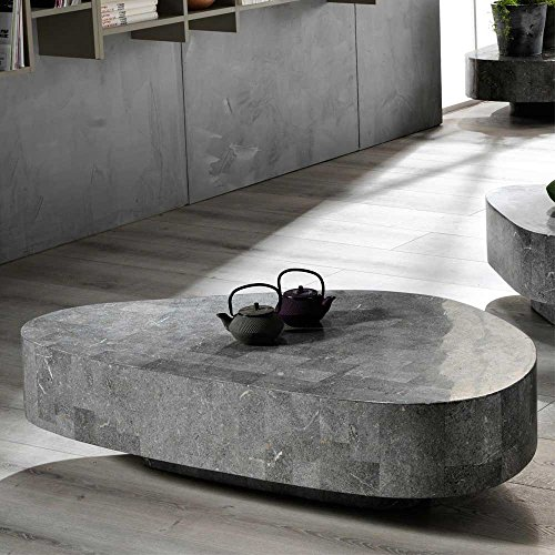 wohnzimmer couchtisch aus stein grau pharao24 m bel24. Black Bedroom Furniture Sets. Home Design Ideas