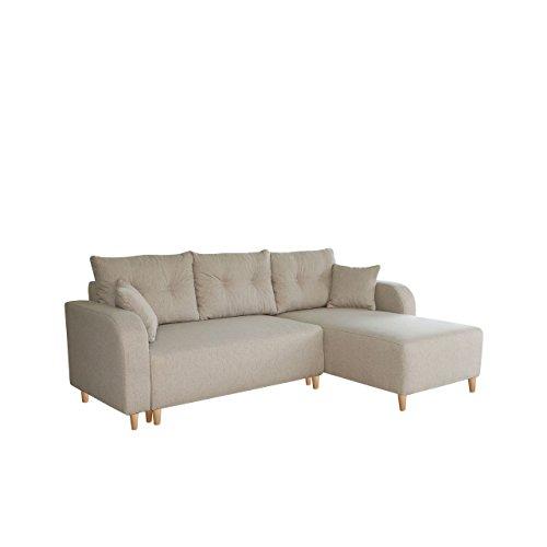 elegante ecksofa lion eckcouch mit bettkasten und schlaffunktion inkl kissen set ottomane. Black Bedroom Furniture Sets. Home Design Ideas