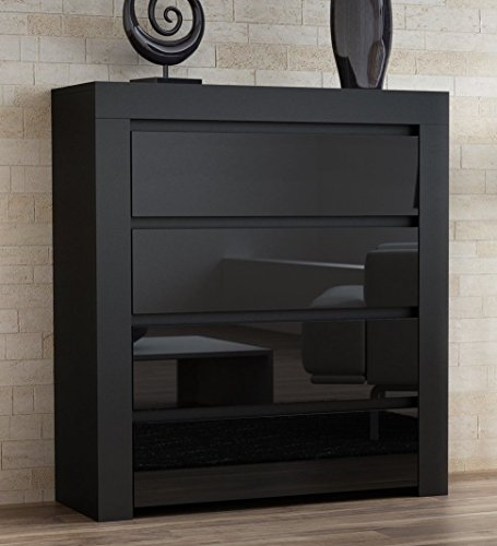 highboard wohnzimmer anrichte wohnzimmer highboard kommode anrichte cm eiche grandson. Black Bedroom Furniture Sets. Home Design Ideas