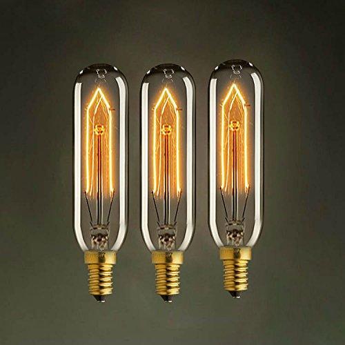 kjlars vintage edison gl hbirne e14 40w t10 220v reagenzglas lampe tube leuchtmittel gl hlampe. Black Bedroom Furniture Sets. Home Design Ideas
