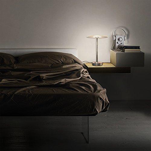kjlars led stehleuchte tischleuchte stehlampe schreibtischlampe led 5000k modern nachttischlampe. Black Bedroom Furniture Sets. Home Design Ideas