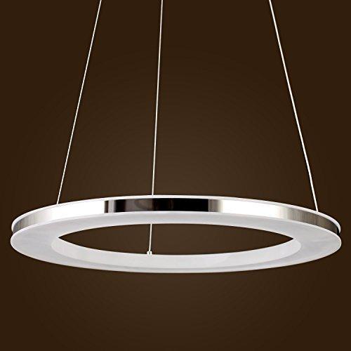 Kjlars modernen led pendelleuchte metall acryl h ngelampe for Runde esszimmertische modern