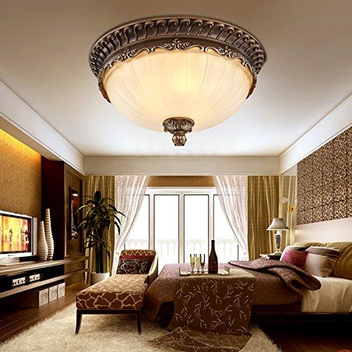 Kjlars retro rund deckenlampe wohnzimmer deckenleuchte k che deckenbeleuchtung schlafzimmer - Deckenbeleuchtung schlafzimmer ...