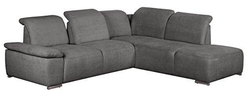 cavadore polsterecke tabagos eckcouch mit ottomane rechts moderne couch mit. Black Bedroom Furniture Sets. Home Design Ideas