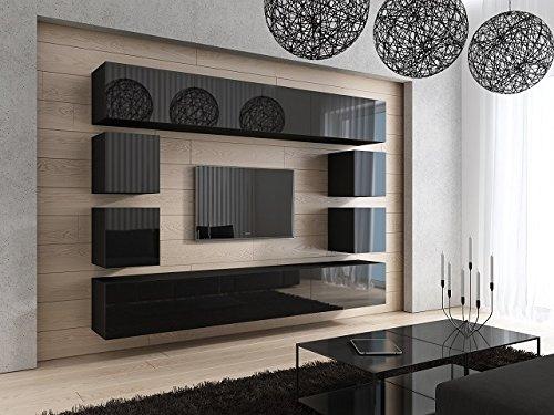 Future 17 moderne wohnwand exklusive mediam bel tv for Exklusive wohnwand
