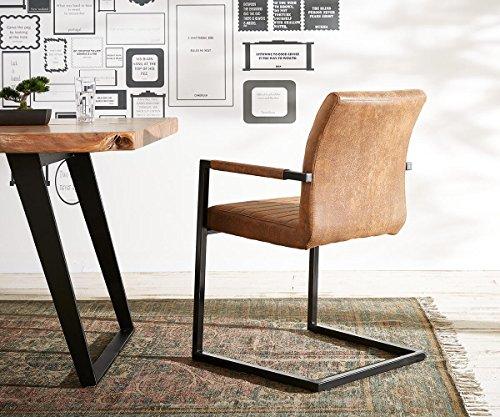 K chenstuhl earnest vintage freischwinger design stuhl for Design stuhl metall
