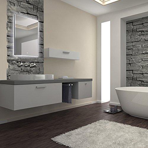 led spiegel beleuchteter badspiegel in verschiedenen ausf hrungen 80 60 cm bis 120 70 cm 60 x. Black Bedroom Furniture Sets. Home Design Ideas