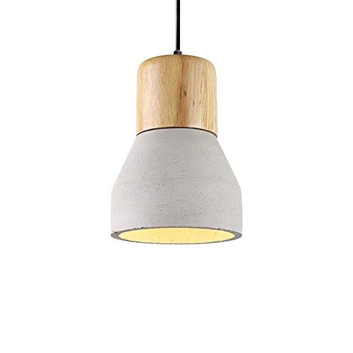 vintage pendelleuchte frideko kreative simplicity industrie beton h ngelampe im taschenlampe. Black Bedroom Furniture Sets. Home Design Ideas