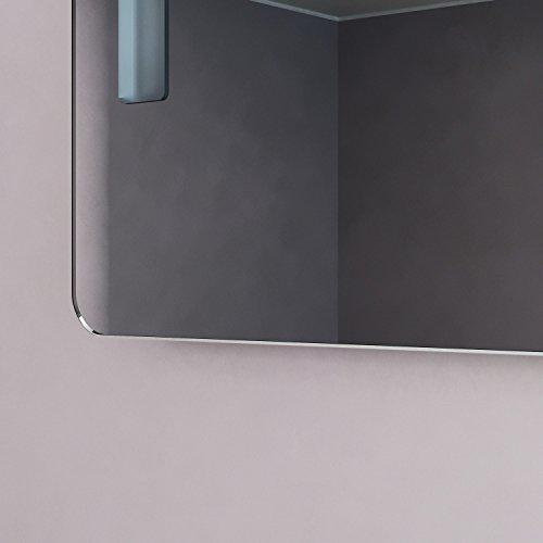 neg badspiegel mitra 80x60cm hxb spiegel abgerundet mit integrierter und energiesparender. Black Bedroom Furniture Sets. Home Design Ideas