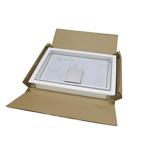 anten 19w 80 60cm 6000k led badspiegel spiegelleuchte spiegel wandspiegel mit beleuchtung led. Black Bedroom Furniture Sets. Home Design Ideas