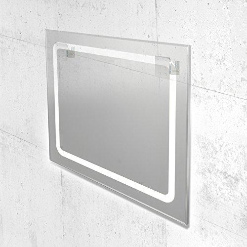 led spiegel beleuchteter badspiegel in verschiedenen ausf hrungen 80x60 cm bis 120x70 cm 60 x. Black Bedroom Furniture Sets. Home Design Ideas