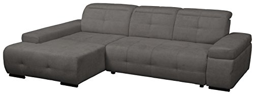cavadore polsterecke mistrel mit ottomanen links eck couch mit bettfunktion schlaffunktion. Black Bedroom Furniture Sets. Home Design Ideas