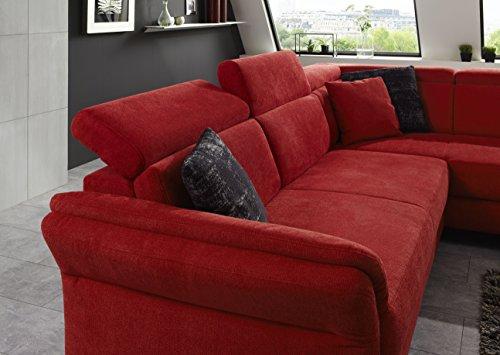 cavadore ecksofa avagnoon mit kopfteilverstellung und ottomanen rechts couch mit. Black Bedroom Furniture Sets. Home Design Ideas
