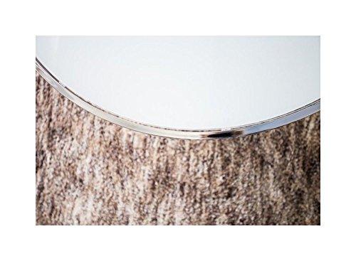 designer couchtisch 85 cm rund chrom in silber tisch beistelltisch repro art deko rund praxis. Black Bedroom Furniture Sets. Home Design Ideas