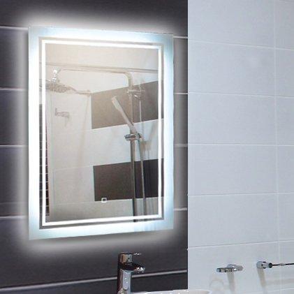 led spiegel beleuchteter badspiegel in verschiedenen ausf hrungen 80x60 cm bis 120x70 cm. Black Bedroom Furniture Sets. Home Design Ideas