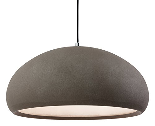 Firstlight 2308 CN E27 Edison Schraube 60 Watt Costa Rough Sand Beton Anhänger Licht – parent Sand Concrete