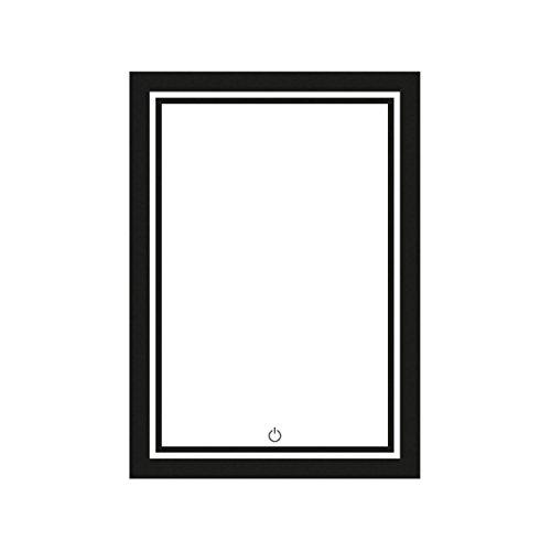 led spiegel beleuchteter badspiegel in verschiedenen ausf hrungen 80 60 cm bis 120 70 cm. Black Bedroom Furniture Sets. Home Design Ideas
