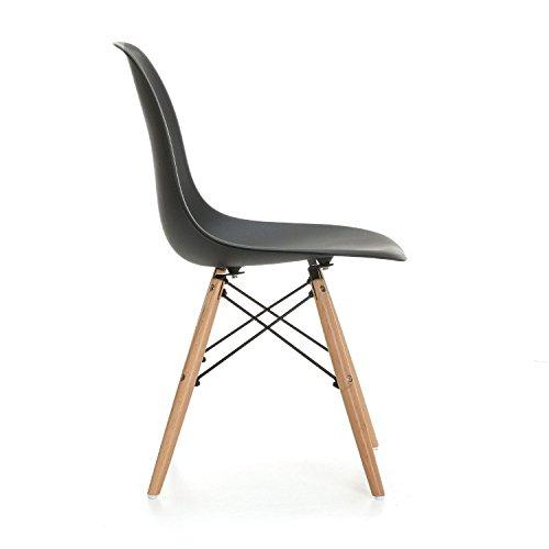 due home nordik pack 4 st hle tower schwarz stuhl. Black Bedroom Furniture Sets. Home Design Ideas