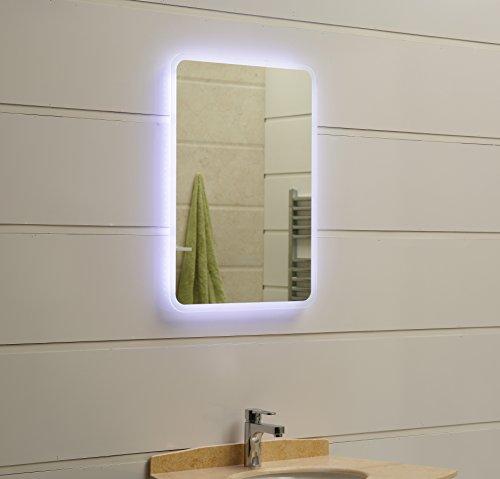 dr fleischmann modernes lichtspiegel wandspiegel badspiegel gs045n mit led beleuchtung ip44 80. Black Bedroom Furniture Sets. Home Design Ideas
