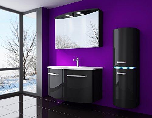 badm bel set atlantis hochglanz lackiert fronten und. Black Bedroom Furniture Sets. Home Design Ideas