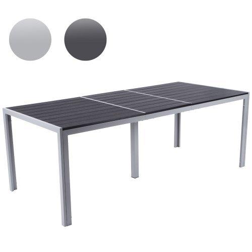 gartentisch aus aluminium witterungs und uv best ndiger. Black Bedroom Furniture Sets. Home Design Ideas