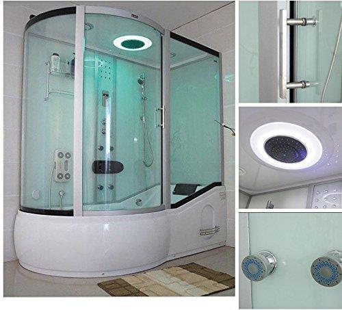 home deluxe all in 2in1 wei links duschtempel inkl komplettem zubeh r m bel24. Black Bedroom Furniture Sets. Home Design Ideas