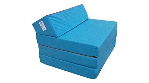 natalia spzoo 0811331 klappmatratze schlafsofa schaumstoff 1331 200 x 70 x 10 cm blau m bel24. Black Bedroom Furniture Sets. Home Design Ideas
