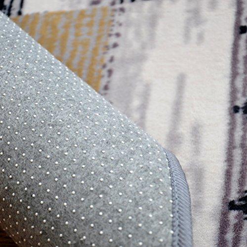 LUYIASI- Teppich Wohnzimmer Couchtisch Schlafzimmer Nachttischdecke moderne minimalistische geometrische Teppich Non-Slip Mat ( Farbe : C , größe : 130x190cm )