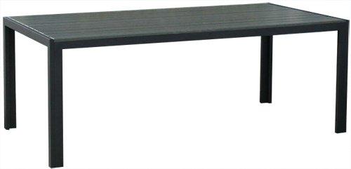 KMH Alu-Gartentisch *Tuco* grau 205 x 90 cm (#106100)